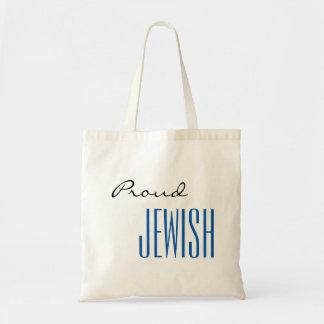 Stolze Juden Tragetasche