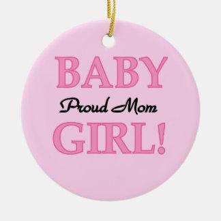 Stolze Mamma-Baby-Geschenke Keramik Ornament