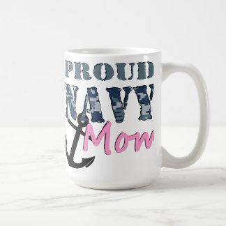 Stolze Marine-Mamma-Tasse Kaffeetasse