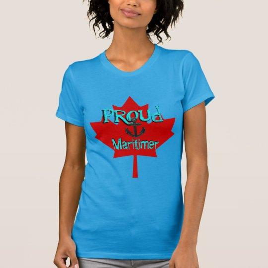 Stolze Maritimer Kanada Shirt Atlantik-Küste