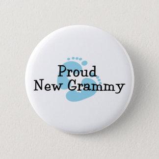 Stolze neue Grammy Baby-Abdrücke Runder Button 5,1 Cm