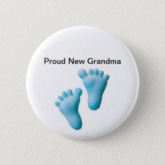 Stolze neue Großmutter Runder Button 5,1 Cm