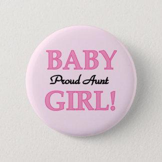 Stolze T-Shirts und Geschenke Tanten-Baby Runder Button 5,1 Cm