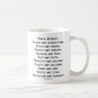 Stolzer Atheist Kaffeetasse