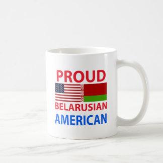 Stolzer belarussischer Amerikaner Kaffeetasse