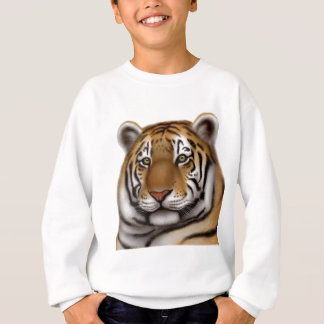Stolzer bengalischer Tiger scherzt Sweatshirt