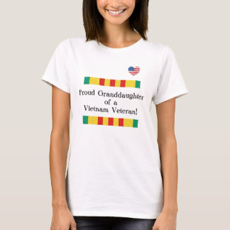 Stolzer Enkelin-Vietnam-Veteranen-T - Shirt