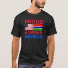 Stolzer gambischer Amerikaner T-Shirt