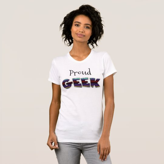 Stolzer Geek-lustiges Shirt
