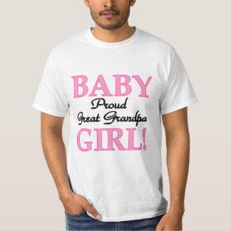 Stolzer großer Großvater der Mädchen-T - Shirts