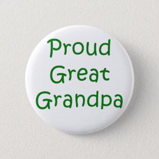 Stolzer großer Großvater Runder Button 5,1 Cm