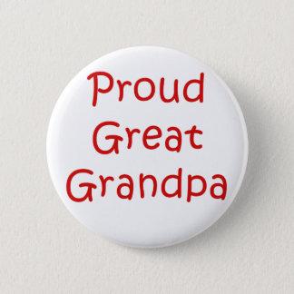 Stolzer großer Großvater Runder Button 5,7 Cm