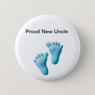 Stolzer neuer Onkel Runder Button 5,1 Cm