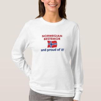 Stolzer Norweger Bestemor (Großmutter) T-Shirt