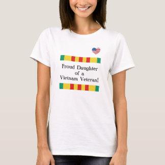 Stolzer Tochter-Vietnam-Veteranen-T - Shirt