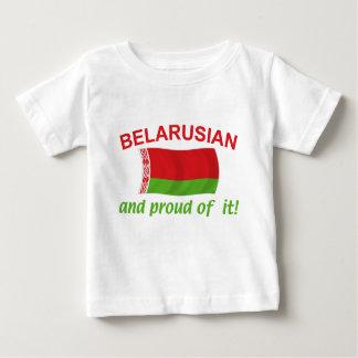 Stolzes belarussisches baby t-shirt