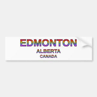 Stolzes Edmonton, Alberta, Kanada Autoaufkleber