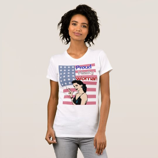 Stolzes ekliges Frau Anti-Trumpf Demokrat-Shirt T-Shirt
