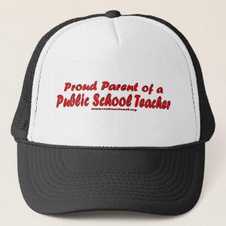 Stolzes Elternteil eines allgemeinen Schullehrers Truckerkappe