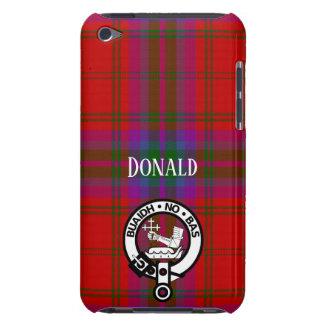 Stolzes MacDougall kariert und Wappen iPod Case-Mate Hüllen