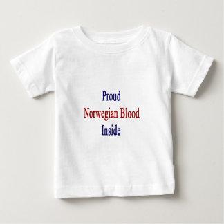 Stolzes norwegisches Blut nach innen Baby T-shirt