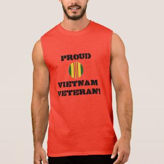 Stolzes Vietnam-Veteranen-Muskel-Shirt Ärmelloses Shirt