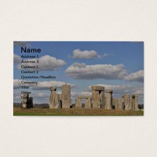 Stonehenge 14 visitenkarte