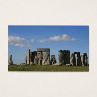 Stonehenge 1 visitenkarte