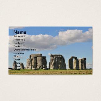 stonehenge 20 visitenkarte