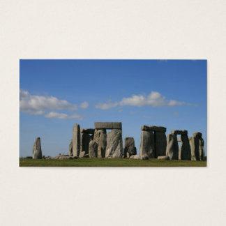 stonehenge 4 visitenkarte