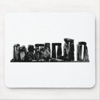 Stonehenge BlackThe MUSEUM Zazzle Geschenke Mousepad
