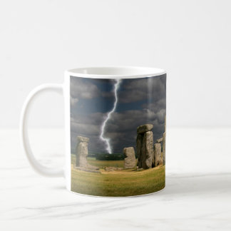 Stonehenge Blitz Kaffeetasse