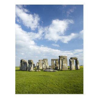 Stonehenge (circa 2500 BC), UNESCO-Welt Postkarte