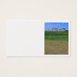 Stonehenge, England Visitenkarte