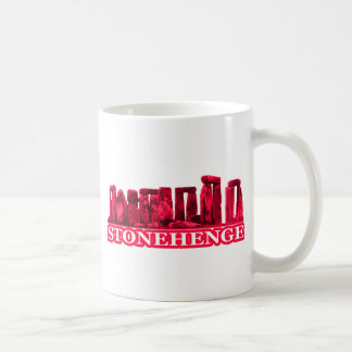 Stonehenge magentarotes transp die MUSEUM Zazzle Kaffeetasse