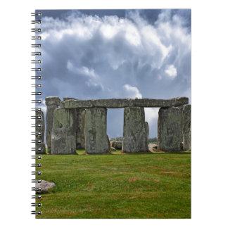 Stonehenge Monument Spiral Notizblock