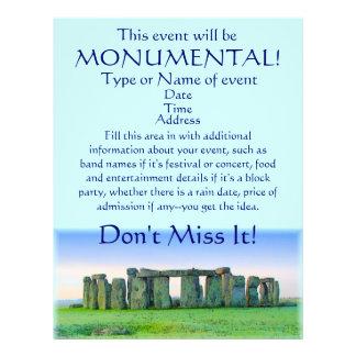 Stonehenge - monumentales Ereignis! Flyer