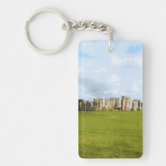 Stonehenge Steinkreis-Monument Schlüsselanhänger