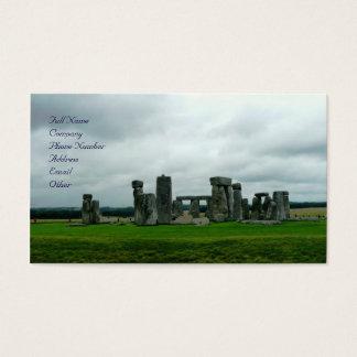 Stonehenge Visitenkarte