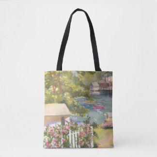 Stonington Maine Ansicht-Taschen-Tasche Tasche
