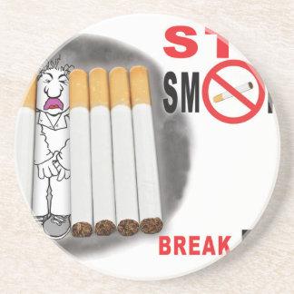 Stoppen Sie, Erinnerungen zu rauchen - nicht mehr Untersetzer