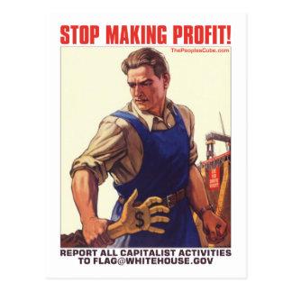 Stoppen Sie Gewinn zu erzielen - Berichts-Kapital
