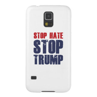 Stoppen Sie Hass-EndTrumpf Samsung Galaxy S5 Cover