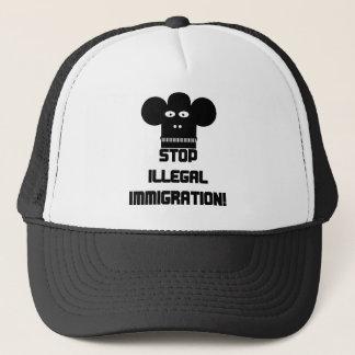 Stoppen Sie illegale Einwanderung! Truckerkappe