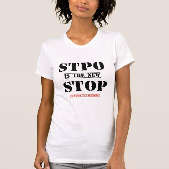 stoppen Sie ist der neuer Endtypo lustige T - T-Shirt