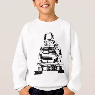 Stoppen Sie Polizei-Brutalitäts-Kunst für besetzen Sweatshirt