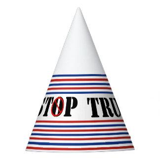 Stoppen Sie republikanisches ROTES weißes Blau der Partyhütchen