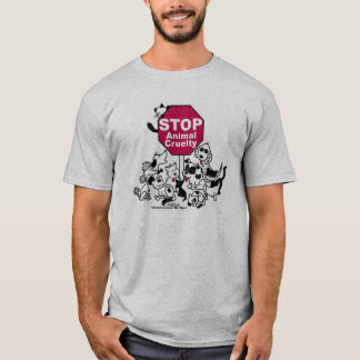 Stoppen Sie Tiergrausamkeit T-Shirt
