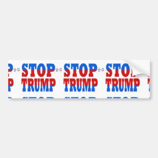 Stoppen Sie Trumpf republikanische GOP-Politik Autoaufkleber