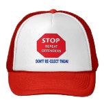 Stoppen Sie Wiederholungs-Straftäter Cap